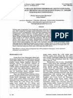 Analisis Dan Desain Sistem Informasi Akuntansi Pada Usaha Kecil Dan Menengah (Studi Kasus Pada CV Smart Teknologi Indonesia003