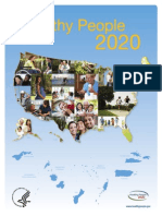 Week 1- Healthy People 2020 Brochure
