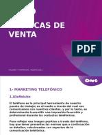 TECNICAS DE VENTA ONO.pptx