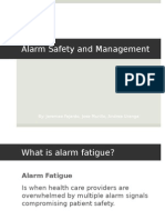 patient alarm fatigue presentation