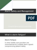 patient alarm fatigue presentation