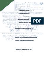 Factorización LU y Gauss Jordan