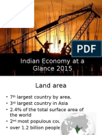 Indian Economy at a Glance 2015