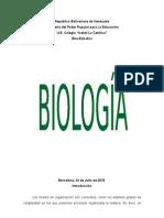 Trabajo de Biologia Los Biomas