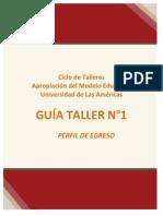 Guía taller N°1 CAPACTACIÓN CURRICULAR  20.01.15   14.00 hr