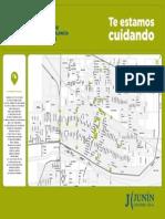 Mapa Camaras de seguridad de Junin