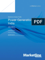 Power Generation in India July 2014