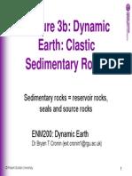 Slides 3b Clastic Sedimentary Rocks 2010