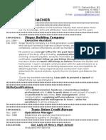 Jobswire.com Resume of julieaschu