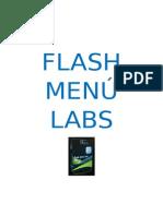 Flash Menú Labs