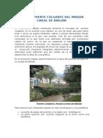 Aaaaarea de Puente Colgante Del Parque Lineal de Biblián 1