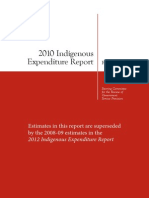 Indigenous Expenditure Report-2010