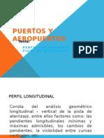 Perfil Longitudinal de Un Piasta Aterrizaje