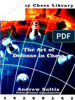 Soltis, Andrew - The Art of Defense in Chess