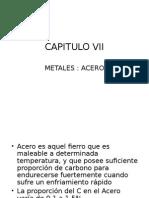 acero materiales