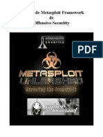 Manual de Metasploit Unleashed de Offensive-security Offcial