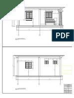 Fachadas Frente y Posterior