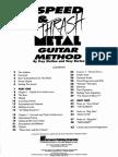 Troy Stetina - Speed and Thrash Metal Guitar Method