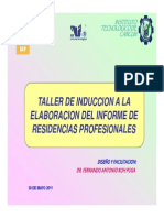 Taller Residencias It Cancun Parte 2 Mayo 2011