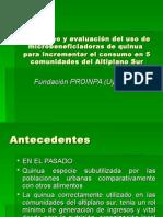 24. Uso de Una Microbeneficiadora de Quinua Para Incrementar El Consumo en El Altiplano Sur