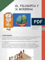 Sociedad, Filosofia y Etica Moderna