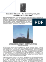 Search for A Sword - The Story of Captain John Fleming R N  (1772 - 1849)