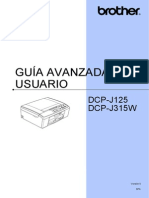 Impresora Brother Dcp315w Spa Ausr