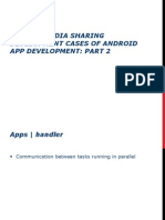 SynapseIndia Sharing Development Cases of Android App Development- Part 2