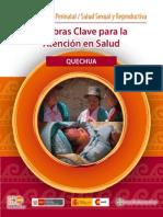 Palabras Atencion Salud Clave Quechua Ayacucho