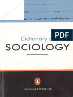 Dictionary of Sociology Penguin