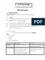 PYC 1501 Basic Psychology Human Nervous System- Impulse Control