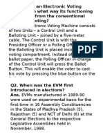 Electric Voting Machine
