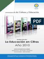 La Educacion en Cifras 2010