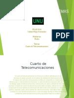 Cuarto de Telecomunicaciones ppt