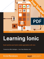 Learning Ionic - Sample Chapter