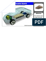 Gasoline-electric Hybrid Structure