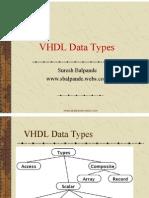VHDL Data Types