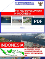 Port Reform and Development in Indonesia