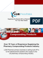 LGM Pharma - Compounding Products