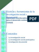 Técnicas y Herramientas de La Investigación Social y