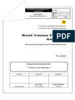 RCFA kebocoran kondensor