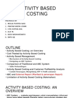 Activity Based Costing - Management Acounting