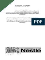Nestle HRM Report
