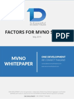 Factors for MVNO Success