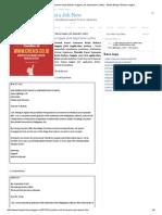 Contoh Surat Lamaran Kerja Bahasa Inggris (Job Application Letter) - Media Belajar Bahasa Inggris