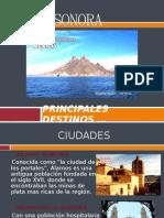 PRINCIPALES DESTINOS