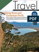 Hiking Boots and Tasmanian Devils