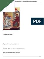 Acatistul Buneivestiri a Preasfintei Nascatoare de Dumnezeu Si Pururea Fecioarei Mariahtml