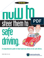 Tutors Guide to safe driving