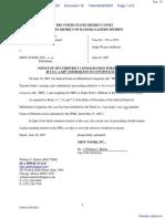 Foxe v. Menu Foods, Inc. et al - Document No. 10